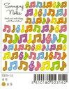 Everyday Seals エブリデーシール RYU-RYU RYURES-15 音符