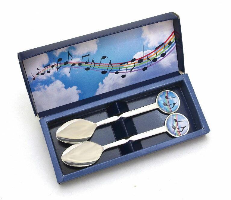 ♪★メロディスプーン 青空 2本セット SA-4...の商品画像