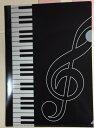 ◎新着商品★Piano line ピアノライン A4クリアファイル A4 ト音記号 0306601