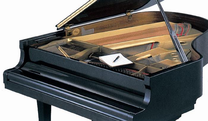 ♪【クリア】グランドピアノ フロントフレームカバー クリア 埃よけに便利です!...:ototebako:10005885