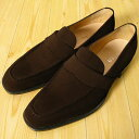 M5-306 スエードローファー[M5-306 Suede Loafer]スエードダークブラウン