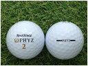 【中古】 TOURSTAGE ブリヂストン ツアーステージ PHYZ 2011年モデル ホワイト S級 ゴルフボール ロストボール 1球バラ売り