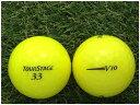 【中古】 TOURSTAGE ブリヂストン ツアーステージ V10 2012年モデル スーパーイエロー A級マーカー ゴルフボール ロストボール 1球バラ売り
