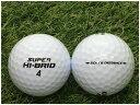 【中古】 DUNLOP ダンロップ SUPER HI-BRID SOFT&DISTANCE ホワイト A級 ゴルフボール ロストボール 1球バラ売り