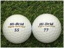 【中古】 DUNLOP ダンロップ Hi-Brid Super Soft Feel ホワイト A級 ゴルフボール ロストボール 1球バラ売り