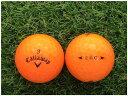 【中古】 Callaway キャロウェイ E R C 2016年モデル クリスタルオレンジ A級マーカー ゴルフボール ロストボール 1球バラ売り