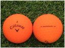 【中古】 Callaway キャロウェイ SUPER HOT BOLD 2020年モデル 蛍光マットカラー オレンジ A級マーカー ゴルフボール ロストボール 1球バラ売り