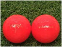 【中古】 KASCO キャスコ KIRA DIAMOND 2020年モデル レッド B級 ゴルフボール ロストボール 1球バラ売り