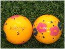 【中古】 KASCO キャスコ KIRA Sweet フラワーオレンジ B級 ゴルフボール ロストボール 1球バラ売り
