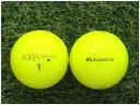 【中古】 KASCO キャスコ KIRA Sweet イエロー S級 ゴルフボール ロストボール 1球バラ売り