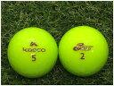 【中古】 KASCO キャスコ SILICONE MILD ライム S級 ゴルフボール ロストボール 1球バラ売り