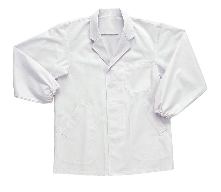11000 男性用襟付き長袖白衣【SMT】