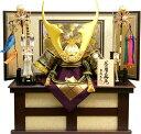 【五月人形 送料無料】吉徳大光作 鯉のぼり「貫前 着用兜」収納飾り 《536-679》