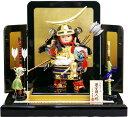 【五月人形 送料無料】秀童作 「伊達政宗 子供大将」 武者人形平飾り《7-2》