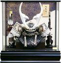 【五月人形 送料無料】吉徳大光作 「貫前兜」パノラマケース飾り《537-726》