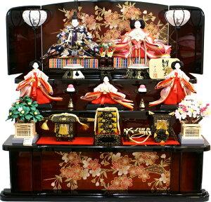 【人気商品 雛人形】千匠作 天使の十二単衣「雛ごよみ