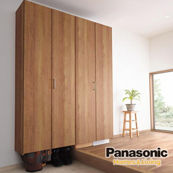 Panasonic(パナソニック) 玄関収納 クロークボックス レジャースポーツ収納プラン[1.0間/ハイブリッド脱臭/スタンダード仕様]大容量収納 シューズボックス SL-1620