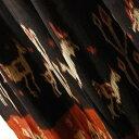 インドネシアの絣織 スンバ島カリウダのイカット タペストリー 飾り布 動物柄 【アジアン】【プレゼント】【エスニック】【コットン】【インテリア】【送料無料!】+A
