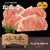 【送料無料】定額ギフト 近江牛 特選サーロインステーキ(4枚入り)