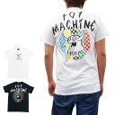 TOY MACHINE トイマシーン MONSTER MARAKED TOKYO S/S TEE [2色](半袖Tシャツ ストリート スケート SB メンズ レディーズ ユニセックス 黒 ブラック ホワイト 白 カットソー) 【ネコポス】