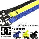 ベルト DC SHOE ディーシー メンズ PEKETO BLTS 15 伸縮 スノーボード スノボ スキー ストリート スケート スケボー スノー 40%off