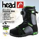 【得割50】 送料無料 head ヘッド スノーボード ブーツ TRIGGER BOA R 352325 メンズ 紳士 ボア スノボ 国内正規代理店品 大きいサイズあります