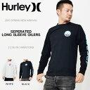 大きい サイズ XLのみ 長袖Tシャツ HURLEY ハーレー メンズ SEPERATED L/S OILERS ロゴ ロゴTシャツ 長袖 Tシャツ トップス サーフ カジュアル アメカジ ロンT 40%off