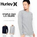 長袖Tシャツ HURLEY ハーレー メンズ STAPLE O&O L/S OILERS ロゴ ロゴTシャツ 長袖 Tシャツ トップス サーフ カジュアル アメカジ ロンT 40%off