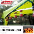 コールマン Coleman LEDストリングライト レッド ランタン型 LEDライト 電池式 ライト アウトドア キャンプ BBQ フェス クリスマス 非常灯 国内正規代理店品