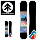 送料無料 ボード 板 gray snowboards グレイ...