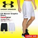 大きいサイズ ハーフパンツ アンダーアーマー UNDER ARMOUR UA Woven Graphic Short メンズ ヒートギア シ...