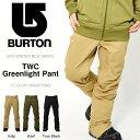 送料無料 スノーボードウェア バートン BURTON Greenlight Pant メンズ パンツ スノボ スノーボード スノーボードウエア SNOWBOAR...