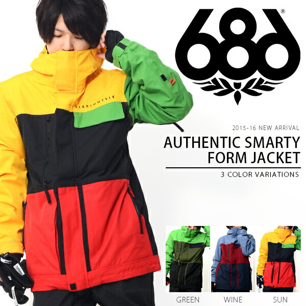 686 SIX EIGHT SIX(シックスエイトシックス) Authentic Smarty Form Jacket