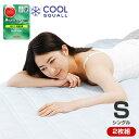 ひんやり 敷きパッド クールスコール テイジン マイティトップII 使用 ひんやり軽寝具シリーズ 敷きパッド シングル2枚組