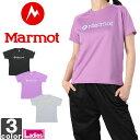 マーモット【Marmot】レディース フラワー マーモットプリント シャツ MJT-S4569W 1503 ウェア シャツ トレーニング 吸汗 速乾 UVカット ヨガ スポーツ ウィメンズ 婦人