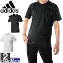 アディダス【adidas】メンズ エッセンシャルズ ベーシック Tシャツ BIM48 1606 BC トップス トレーニング フィットネス ジム クラブ ウェア 運動 スポーツ シャツ CLIMALITE 紳士 男性
