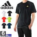 アディダス【adidas】メンズ ベーシック PES Tシャツ DJF43 1606 トップス トレーニング フィットネス ジム ウェア 運動 スポーツ シャツ BASIC 紳士