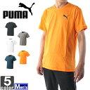 プーマ【PUMA】メンズ CD 半袖 Tシャツ 838789 1607 クレバードライ トップス ウェア シャツ ジム フィットネス スポーツ TEE 吸汗速乾 紳士 男性