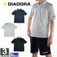 ディアドラ【DIADORA】メンズ DDNA ポロシャツ FP6500 1608 サッカー トップス ウェア スポーツ フットサル トレーニング 半袖 部活 紳士 男性
