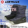 エアウォーク【AIRWALK】メンズ スノーブーツ AWSNB-16 1610 スノーブーツ ウインターブーツ シューズ 靴 ブーツ 通勤 通学 タウンユース 紳士 男性