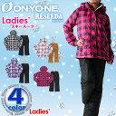 ■《送料無料》オンヨネ【ONYONE】レディース RESEEDA スキー スーツ 上下セット RES88002 1612 防寒 セットアップ スキーウェア ウイ...