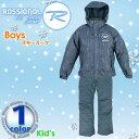 ■《送料無料》ロシニョール【ROSSIGNOL】ボーイズ スキー スーツ RLDJJST02 1612 ゲレンデ ジャケット パンツ セットアップ スキーウェア...