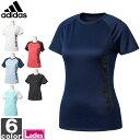 アディダス【adidas】 レディース W リニアロゴ 半袖 Tシャツ DJH30 1703 シャツ トップス