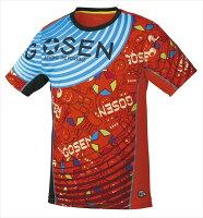 GOSEN(ゴーセン) ファンプラシャツ ユニセックス UT1800 1805 【メンズ】【レディース】 テニス・バドミントン ウェアの画像