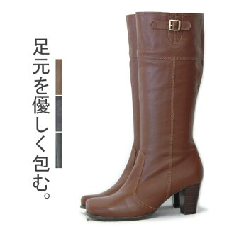 / real leather boots // made in of leak side belt leather boots OT898 / Japan made in Japan