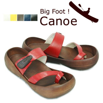 Japan made by Bigfoot! Men's カヌークロストング Sandals c200 (4 colors s)