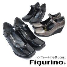 當一回穿的時候變得不能放開Figurino(フィグリーノ)日本裝訂皮革吊帶休閑鞋FIG036懷斯4E◆/舒服鞋/穿,并且約定感覺。◆ 孩子括號(懷斯4E/5E)