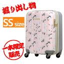 【掘り出し物:訳あり】外装汚れ/キズ有り サンプル品 スーツケース SSサイズ キャリーバッグ ハードケース 2015-0714-061