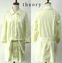 【SALE\7850→\1950】 セオリー リュクス / ストライプ ロング シャツ ジャケット 【中古】【DM便・送料無料】 チュニック ブラウス / theory luxe / #