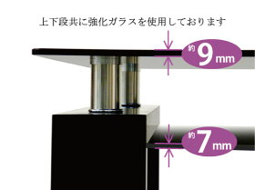 ���Ρ֥֥�å����饹N-modern�פΥ����˥ơ��֥롪���⡼�����饹&�֥�å����饹���ѥ����˥ơ��֥뿩��ơ��֥뢡ŷ�IJ�ê�������饹���Ѣ�129.5×79.5cm��
